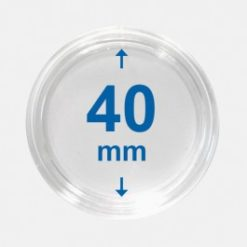 Importa muntcapsules 40 mm Crystal Clear 10 Stuks