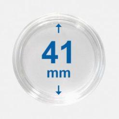 Importa muntcapsules 41 mm Crystal Clear 100 Stuks