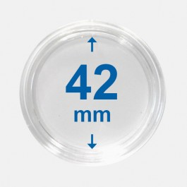 Importa muntcapsules 42 mm Crystal Clear 10 Stuks 1