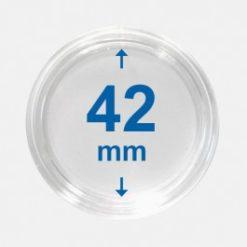Importa muntcapsules 42 mm Crystal Clear 100 Stuks