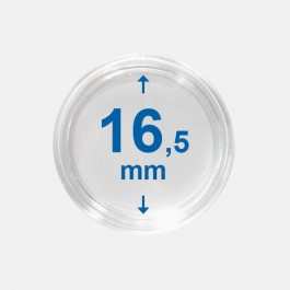 Importa muntcapsules 16,5 mm Crystal Clear 10 Stuks
