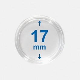 Importa muntcapsules 17 mm Crystal Clear 10 Stuks
