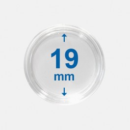Importa muntcapsules 19 mm Crystal Clear 10 Stuks