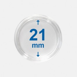 Importa muntcapsules 21 mm Crystal Clear 10 Stuks
