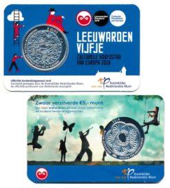 Nederland 2018 Leeuwardenvijfje Coincard UNC