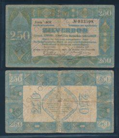 Nederland 1918 2 Gulden Zilverbon