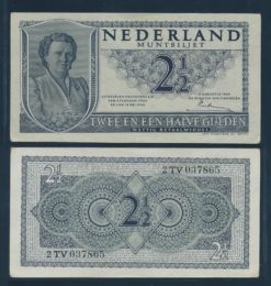 Nederland 1949 2 Gulden Juliana
