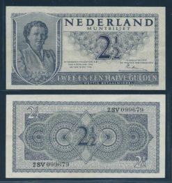 Nederland 1949 2 Gulden Juliana