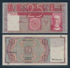 Nederland 1931 25 Gulden Mees Bankbiljet