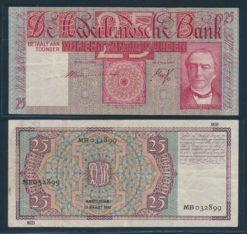 Nederland 1931 26 Gulden Mees Bankbiljet