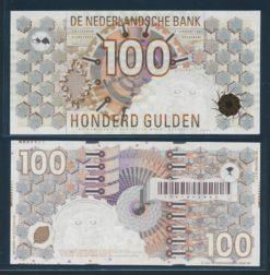Nederland 1992 100 Gulden Steenuil Bankbiljet