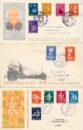 Nederland 1958 Jaargang Eerste Dag Enveloppen