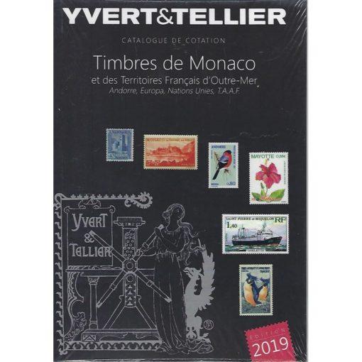 yvert monaco 2019 vz