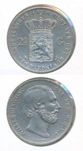 Nederland Zilveren Rijksdaalder 1860 Willem III