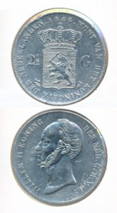 Nederland Zilveren Rijksdaalder 1846 Lelie Willem II