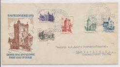 Nederland 1951 FDC Kastelenserie met getypt adres E5