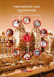 Nederland 2000 Themamapje 3 200 jaar Rijksmuseum