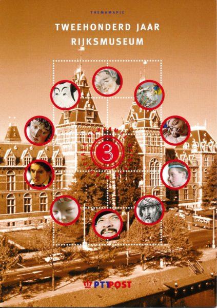 Nederland 2000 Themamapje 3 200 jaar Rijksmuseum 1