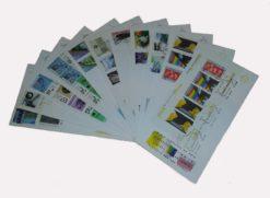 Nederland 1986 Complete Jaargang Eerste Dag Enveloppen