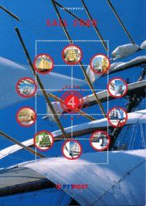Nederland 2000 Themamapje 4 Sail 2000