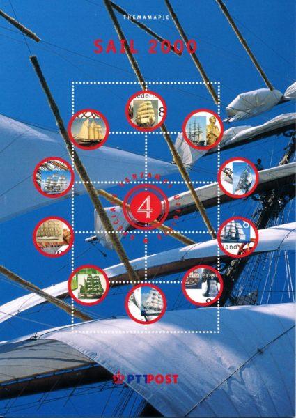 Nederland 2000 Themamapje 4 Sail 2000 1