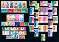 Indonesie 1962 Complete jaargang postzegels postfris