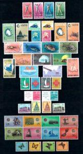 Indonesie 1963 Complete jaargang postzegels postfris