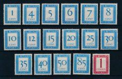 Nederland 1947-1958 Met Verticaal watermerk P80a-P105a Ongebruikt