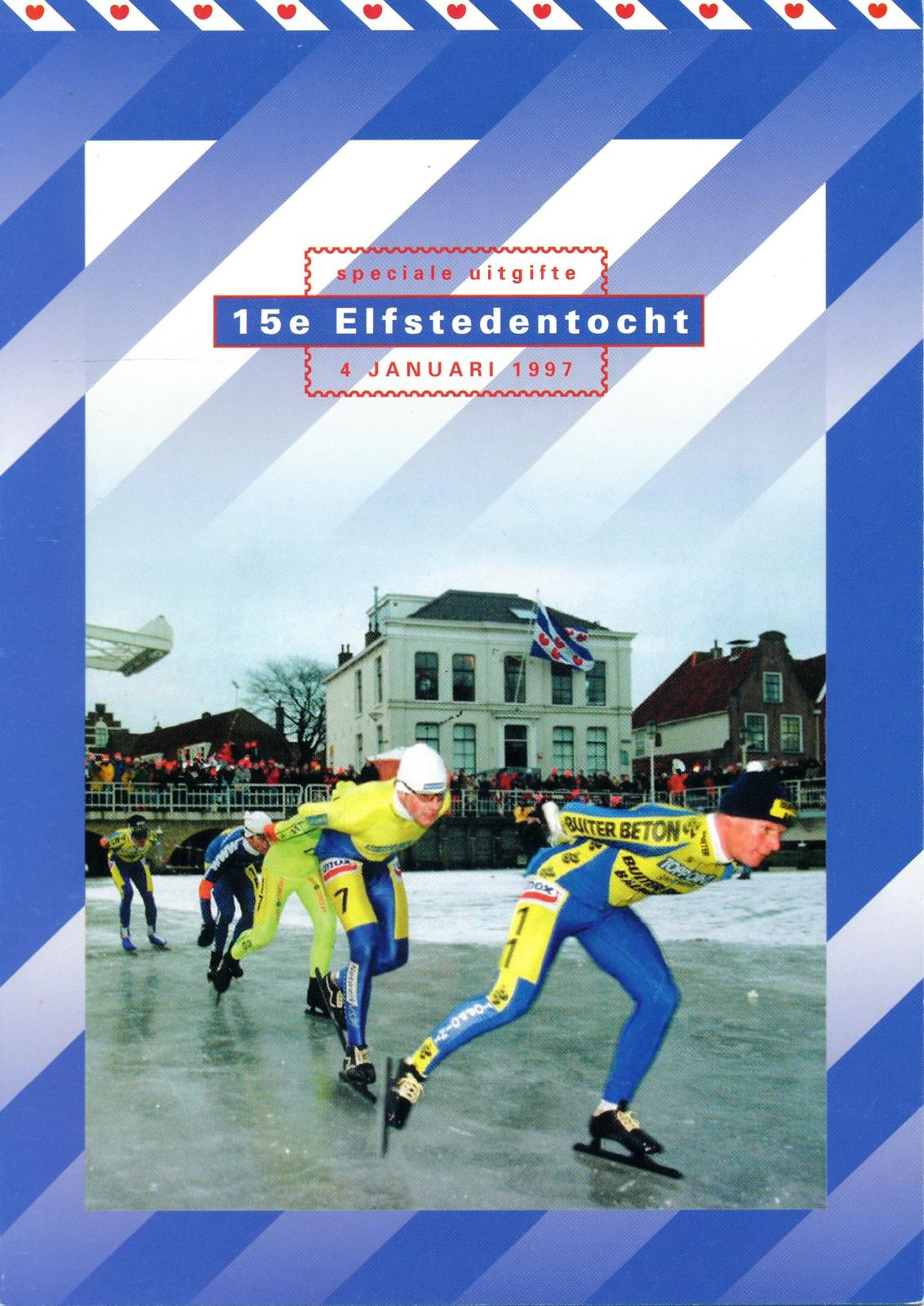 Nederland 1997 Themamapje 15e Elfstedentocht
