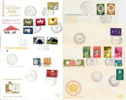 Nederland 1964 Complete Jaargang Eerste Dag Enveloppen