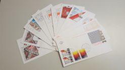 Nederland 1977 Complete Jaargang Eerste Dag Enveloppen