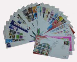 Nederland 2001 Complete Jaargang Eerste Dag Enveloppen