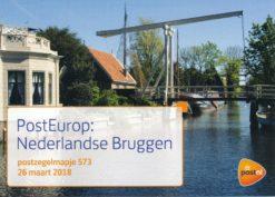 Nederland 2018 PostEurop: Nederlandse Bruggen PZM573