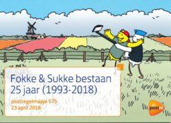 Nederland 2018 Fokke & Sukke bestaan 25 jaar (1993-2018) PZM575