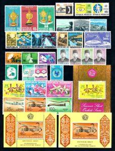 Indonesie 1976 Complete jaargang postzegels postfris