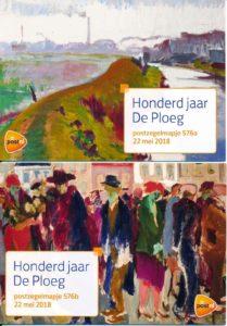 Nederland 2018 Honderd jaar De Ploeg PZM576A-B
