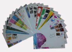 Nederland 2005 Complete Jaargang Eerste Dag Enveloppen