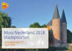 Nederland 2018 Mooi Nederland 2018: Stadspoorten PZM577