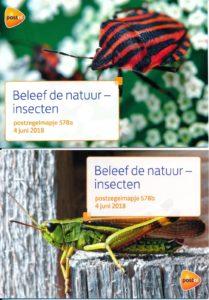 Nederland 2018 Beleef de natuur - Insecten PZM578A-B