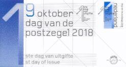Nederland 2018 FDC Dag van de Postzegel E776