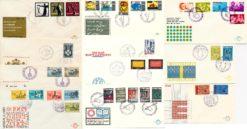 Nederland 1965 Complete Jaargang Eerste Dag Enveloppen