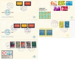 Nederland 1966 Complete Jaargang Eerste Dag Enveloppen