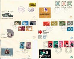 Nederland 1967 Complete Jaargang Eerste Dag Enveloppen