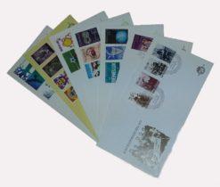 Nederland 1974 Complete Jaargang Eerste Dag Enveloppen