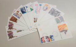 Nederland 1980 Complete Jaargang Eerste Dag Enveloppen