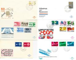 Nederland 1968 Complete Jaargang Eerste Dag Enveloppen