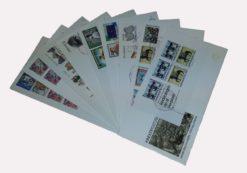 Nederland 1975 Complete Jaargang Eerste Dag Enveloppen
