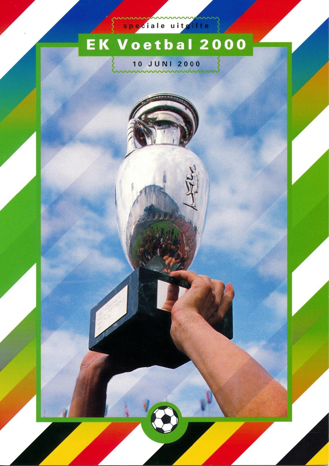 Nederland 2000 Themamapje EK Voetbal