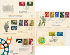 Nederland 1962 Complete Jaargang Eerste Dag Enveloppen