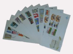 Nederland 1976 Complete Jaargang Eerste Dag Enveloppen